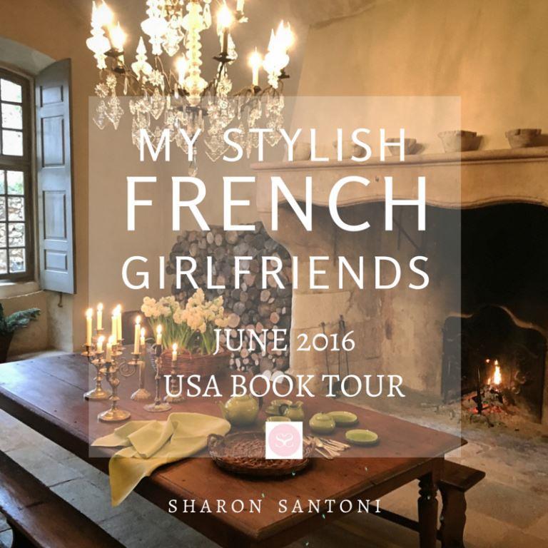 Sharon Santoni book tour image