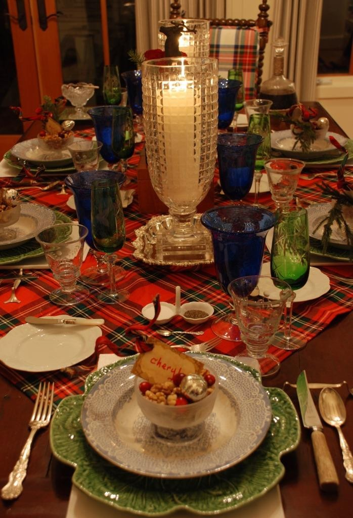 Christmas place setting 2