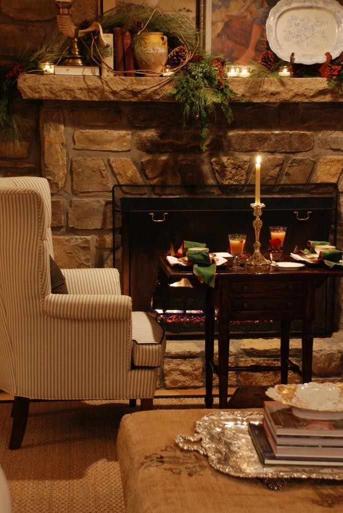 Dinner by the fire 3